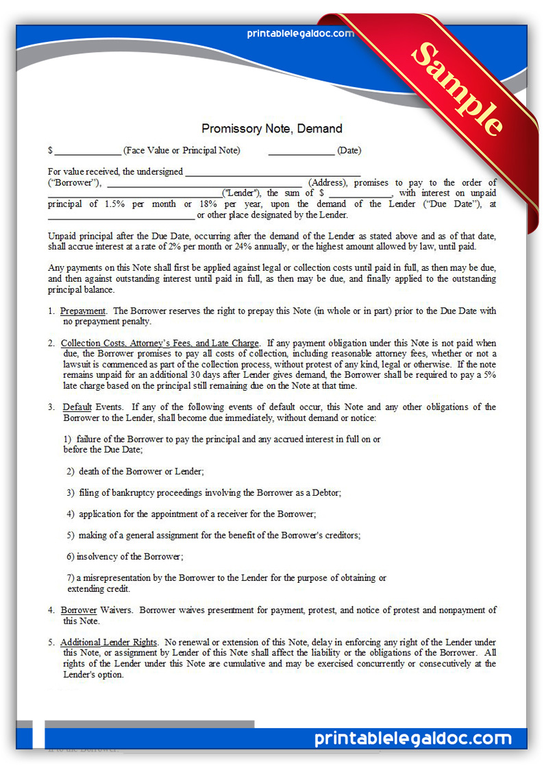 promissory note forms – Convertible Note Agreement Template