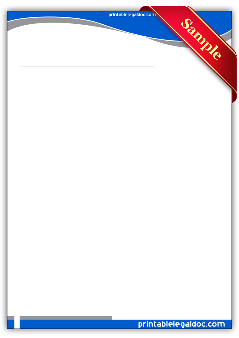 Free Printable Security Agreement Form