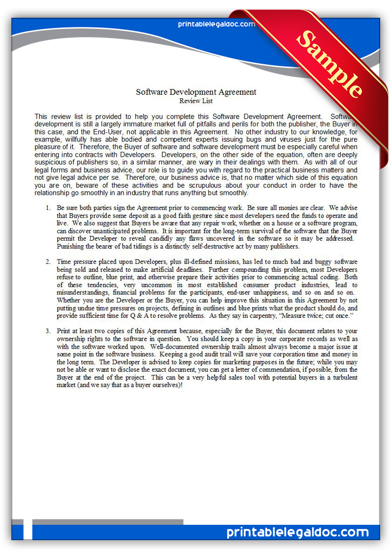 Technology License Agreement Template 28 Images