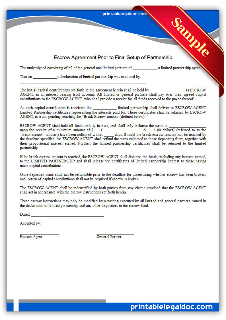 Printable-Escrow-Agreement-Prior-to-Final-Setup-of-Partnership-Form