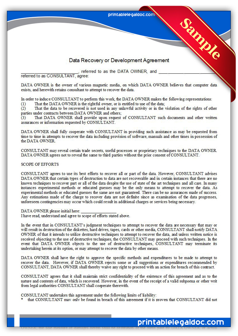 Printable-Data-Recovery-or-Development-Agreement-Form