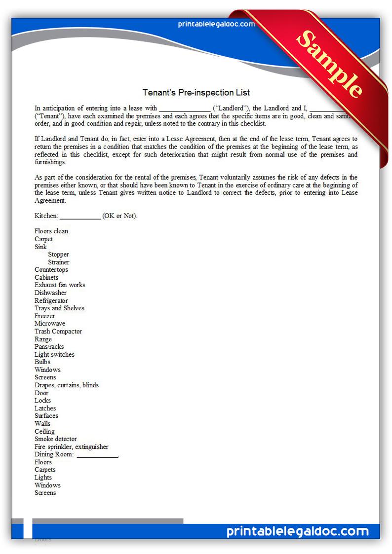 Printable-Tenant's-Preinspection-list-Form