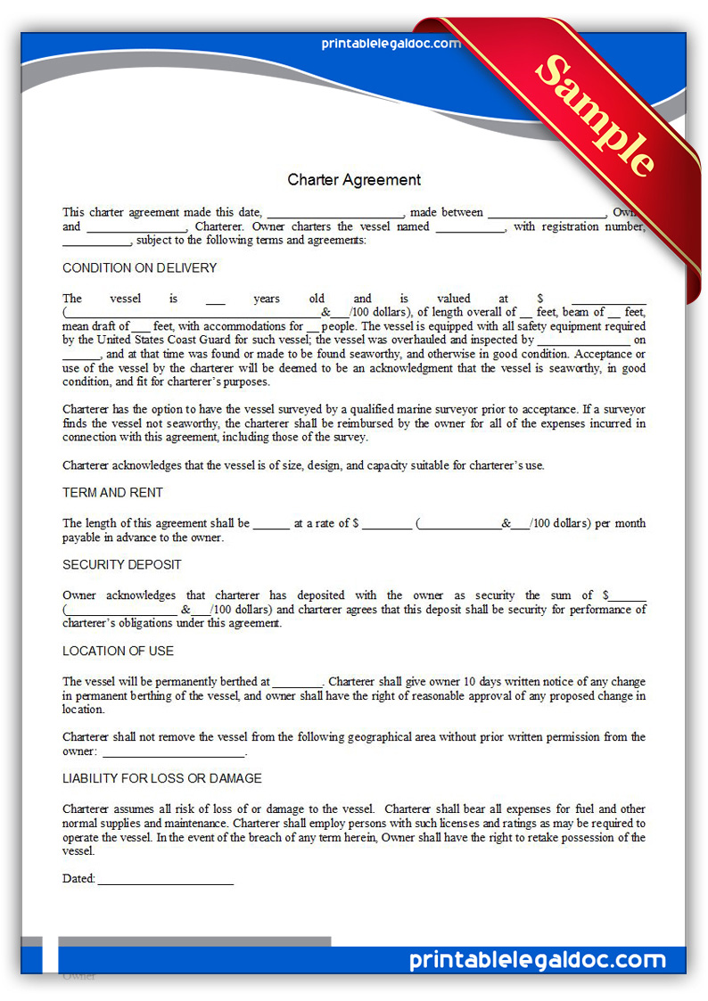 Printable-Charter-Agreement-Form