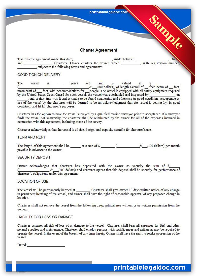 Printable-Charter-Agreement-Form