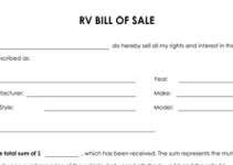 bill-of-sale-for-rv-48-211x150 Generic Buyer Letter To Seller Template on buyers fair letters, home letter to seller, buyers letters samples,