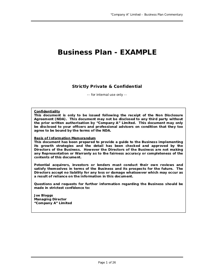 free printable business plan sample form generic. Black Bedroom Furniture Sets. Home Design Ideas