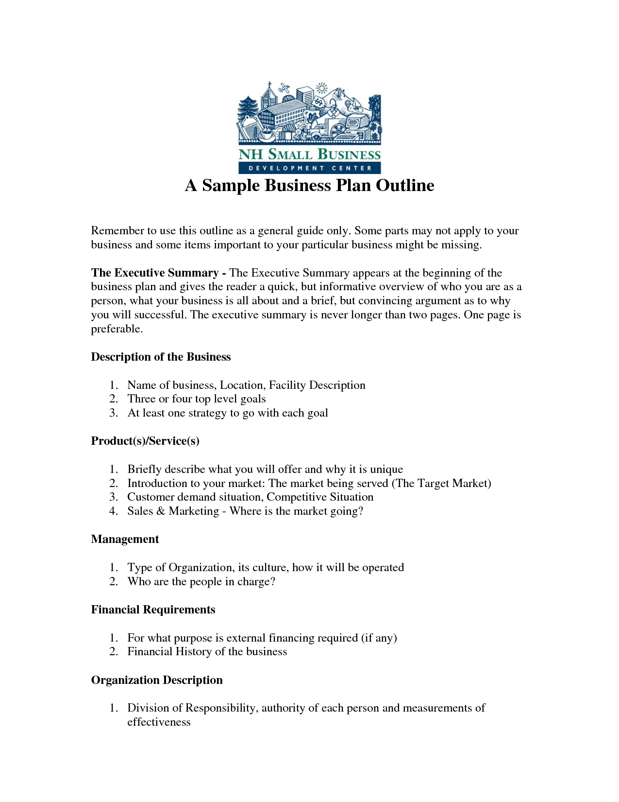 business plan samples download