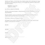 Champer Bill of Sale