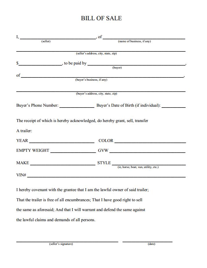 trailer transfer qld form pdf