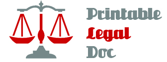 Sample Printable Legal Forms (For Attorney / Lawyer)