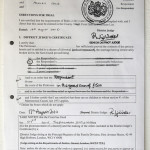 Divorce Documents