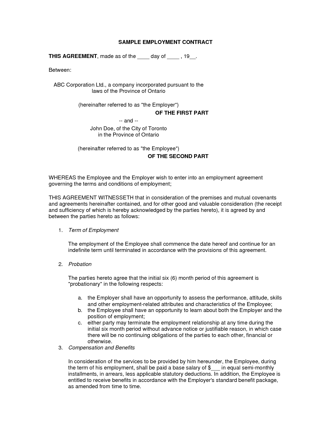 termination free employment contract software trainee cover letter