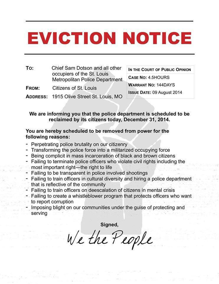 graphic relating to Printable Eviction Notice called Cost-free Printable Eviction Focus Style (GENERIC)
