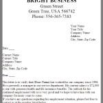 Letter Of Employment Verification