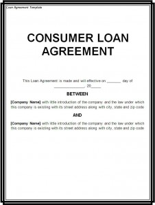 Loan Contract Template · Liability Form Template  Loan Contract Example