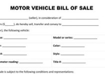 motorcycle sale contract