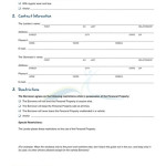 personal loan contract agreement template .